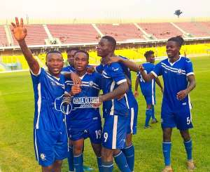 Great Olympics Defeat Karela United 2-0 To Record First Ghana Premier League Win