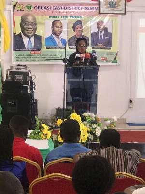 Meet The Press: Obuasi East Woos Investors For 1D1F