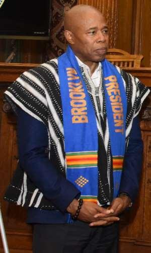 Hon. Eric L. Adams Brooklyn Borough President To Host Ghana's 63rd Independence