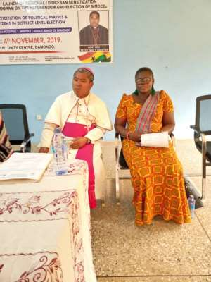 Pass Amendment Bill To Allow Election Of MMDCEs — Catholic Bishop To Parliament