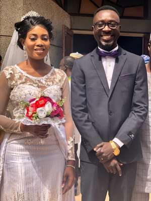 Northern Regional Daily Guide Reporter Grabs A Wife