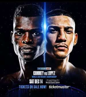 GBA Wishes Richard Commey Success In His IBF Title Defence At Madison Square Garden On Saturday