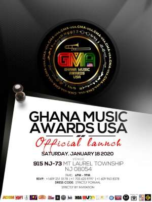Venue For Ghana Music Awards USA Changed