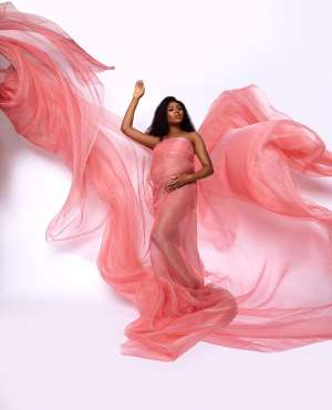 Stephanie Coker Marks Birthday with Lovely Maternity Photos & Gratitude Messages