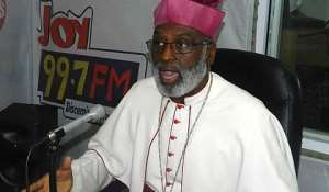 Most Rev. CharlesPalmer-Buckle led a delegation of Catholic Bishops to the Jubilee House recently