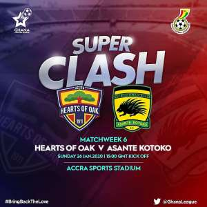 Hearts Announce Ticket Prices For Kotoko Clash On Sunday