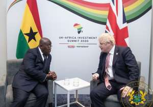 Ghana, UK Pledge To Stregthen Ties Of Co-Operation
