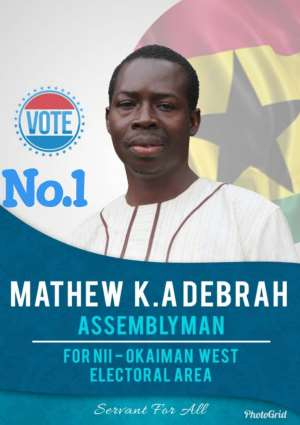 Mathew Debrah Reveals Why He Will Be The Best Assembly Man For Nii-Okaiman West