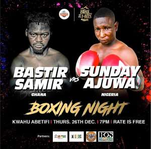 Boxing Day Bliss On The Hills Promotion Heats Up As Bastie Samir Shows Up In Media Workout
