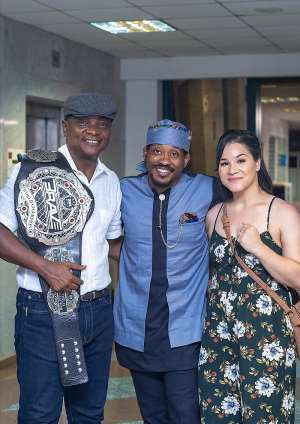 Togbui Afede XIV Hosts MMA World Champion Bubba Jenkins