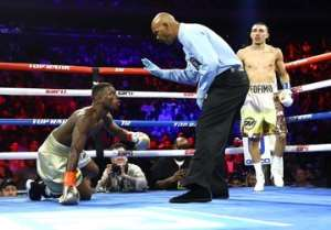 """Real beating"" – Ghanaians react to Richard Commey's defeat to Teofimo"