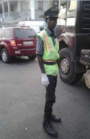 We Failed Awudu The Patriotic Committed Traffic Warden Who's Praises We Sing All Over Now