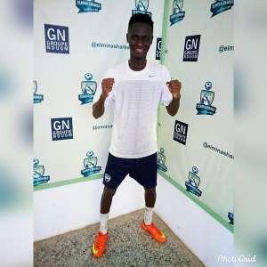 Elmina Sharks Signs Midfielder Henry Afankwa