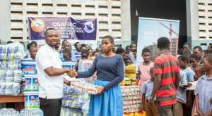 Akropong School For The Blind Receives Donations From OSAFRIC