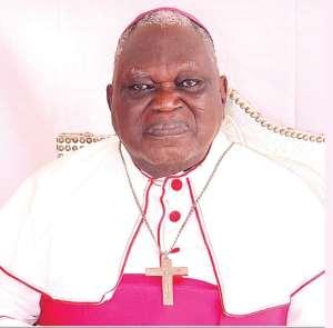 Emeritus Archbishop Sarpong
