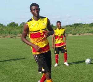 Ashgold In Talks To Sign Highly-Rated Striker Benedict Wobenu