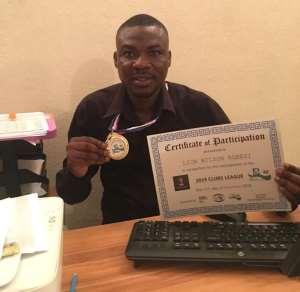 Ghana Wheelchair MiniGolf President Agbesi Dedicates Award To His Mum