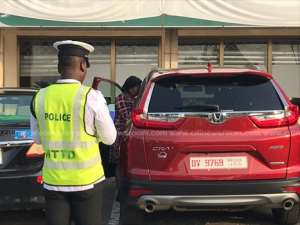 BoG Top Boss, Security Office Arrested For Road Offences