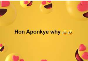 This Is How Social Media Reacted To Hon Aponkye's Loss