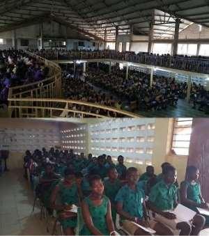 VFL-Ghana Holds Mentorship For Aflao Students