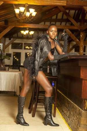 Super model Ama Amponsah draws attention on SapphirEmerald magazine + ambassadorial deal
