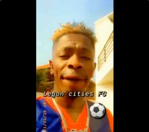 VIDEO: Shatta Wale Promotes Legon Cities FC; Pledges Lifetime Support For Club