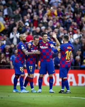 La Liga: Messi Scores 50th Goal Of 2019 In Barcelona Win