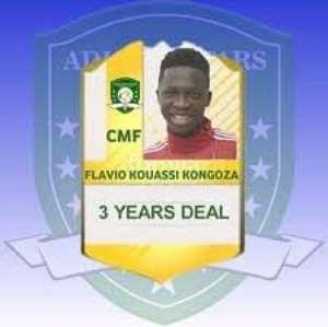Aduana Stars Sign Ivorian Midfielder Flavio Kouassi