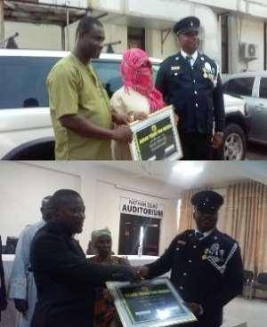 Odorkor MTTD Police Commander Rewarded