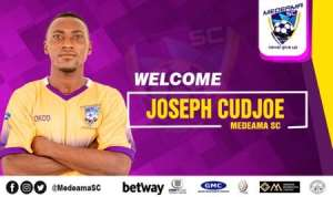 Medeama SC Complete Signing Of Joseph Cudjoe