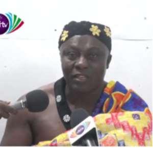 The Chief of Aketekyieso, Nana Gyamfi Brobbey II
