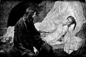 Jesus raised Jairus' daughter from the dead