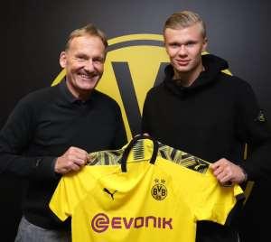 Dortmund Sign Striker Haaland From Salzburg