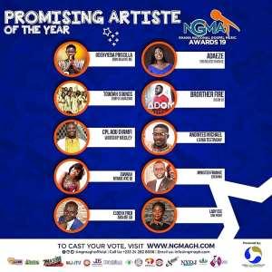 Lady Cee, Shatta Wale, Kofi Kinaata, Kuami Eugene, Others Nominated For 2019 Ghana National Gospel Music Award