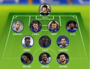 Michael Essien Named In Chelsea's Team Of The Decade