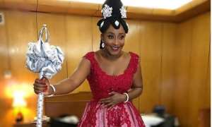 Actress, Ini Edo Breaks the Internet with Native Attire