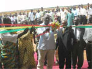 President Commissions ¢22.3 Billion School Project