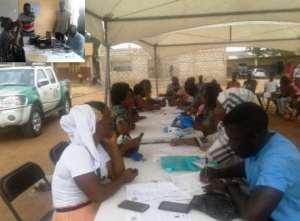 La - Nkwantanang Madina Begins Ghana Card Registration