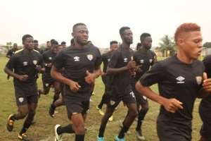 VIDEO: Hearts Train In Lome Ahead Of Etoile Filante Friendly This Afternoon