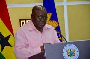 Akufo-Addo Will Not Address Parliament Tonight