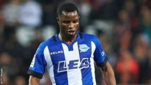 Wakaso Receives Red Card In Deportivo Alaves' Defeat At Granada