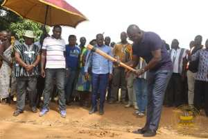 Bryan Acheampong Cuts Sod For Construction Of 8km Road To Serve Towns In Abetifi