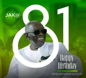 Kufuor Is 81 Today