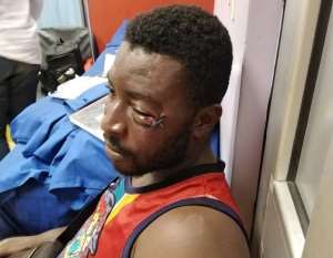 Complaints Against Patrick Allotey Who Assaulted A Football Fan In Stadium