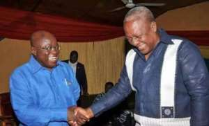 On NDC's Moment of Truth: Didn't Mahama ask Akufo-Addo to stop chasing illegal miners?
