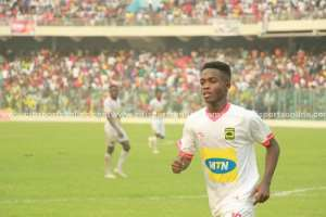 Kotoko Sensation Mathew Cudjoe Donates 50% Of Winning Bonus Against Hearts To Injured Fan