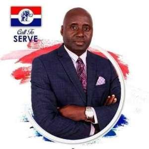 Alhaji Manaf Osumanu Alidu, the NPP Ayawaso North Parliamentary Candidate for election 2020