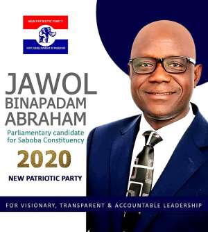 Abraham Jawol To Contest The NPP Primaries In The Saboba Constituency