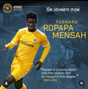 OFFICIAL: Ropapa Mensah Seals Move To USL Side Pittsburgh Riverhounds SC