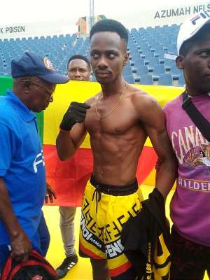 Benin's John Amuzu Says He Is In Ghana To Win WBO Global Title